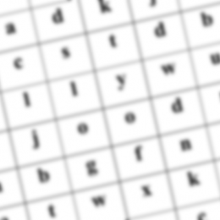 Word Search Header
