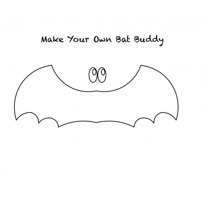 Make Your Own Bat Buddy Craft