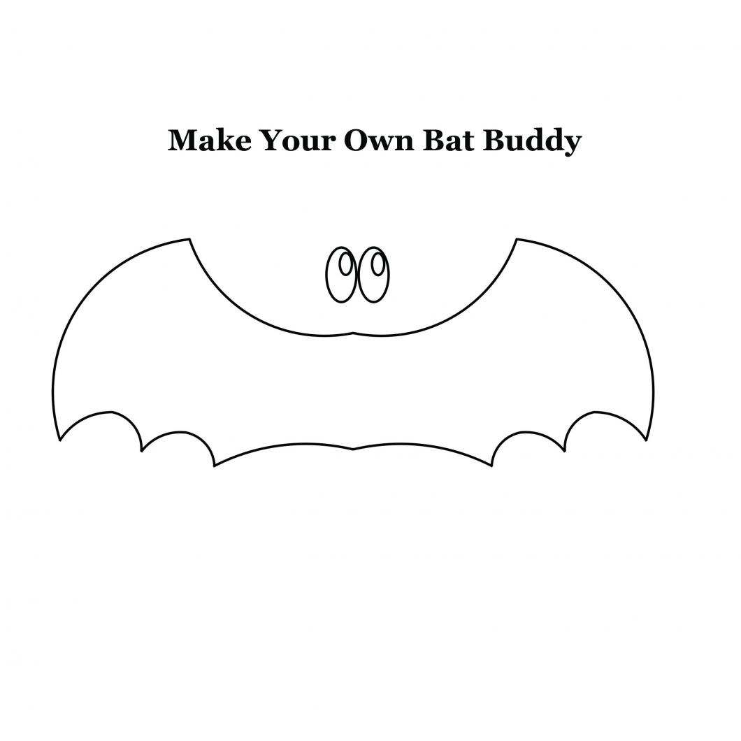 Make your own bat buddy activity